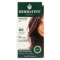 Herbatint Permanent Herbal Haircolour Gel 4M Mahogany Chestnut - 135 ml
