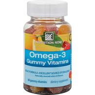 Nutrition Now Omega-3 Lemon - 60 Gummies
