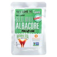 Natural Sea Solid White Albacore Tuna - No Salt - Case of 12 - 3 oz.