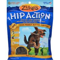 Zuke's Hip Action Dog Treats - Peanut Butter Formula - Case of 12 - 6 oz