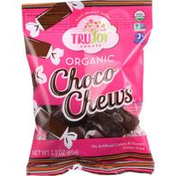 TruJoy Sweets Chocolate Candy - Organic - Choco Chews - 2.3 oz - case of 12