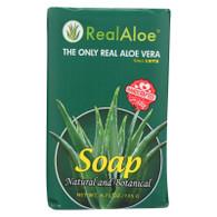 Real Aloe Aloe Vera Bar Soap - 4.75 oz
