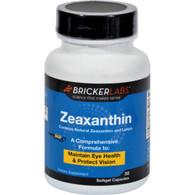 Bricker Labs Zeaxanthin with Lutein - 30 Softgels