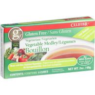 Celifibr Soup Bouillon Cubes - Vegetable Medley - 2 oz - Case of 12