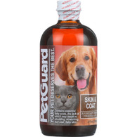 Petguard Skin and Coat Supplement - Dogs and Cats - 8 oz - 1 each