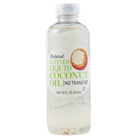 Roland Coconut Oil - Refined Liquid - Case of 6 - 16 oz.