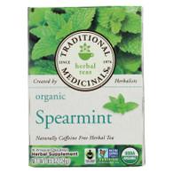 Traditional Medicinals Organic Tea - Spearmint 16 Bags