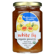 Mediterranean Organic Fruit Preserves - Organic - White Fig - 13 oz - case of 12