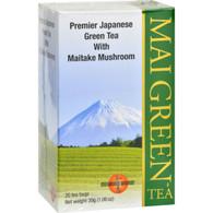 Mushroom Wisdom Mai Green Tea - 20 Tea Bags
