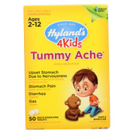 Hylands Homeopathic 4Kids Tummy Ache - Quick-Dissolving - 50 tablets - 1 each