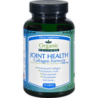 Organic Science Joint Health - Collagen Formula - 30 Tablets