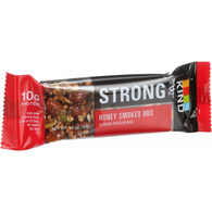 Strong and Kind Bar - Honey Smoked BBQ - 1.6 oz Bars - Case of 12