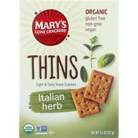 Marys Gone Crackers Crackers - Organic - Thins - 4.5 oz - case of 6