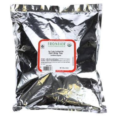 Frontier Herb Tea - Organic - Fair Trade Certified - Black - Earl Grey - Bulk - 1 lb