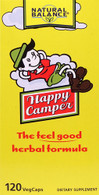 Natural Balance Happy Camper® Dietary Supplement -- 120 Vegetarian Capsules