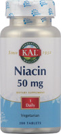 Kal Niacin -- 50 mg - 200 Tablets