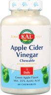 KAL Apple Cider Vinegar -- 500 mg - 60 Chewable Tablets
