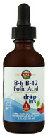 KAL B-6 B-12 Folic Acid Dropins™ Natural Mixed Berry -- 2 fl oz