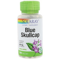 Solaray, Blue Skullcap, 425 mg, 100 VegCaps