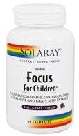 Focus For Children Tart Grape Flavor - 60 Chewables