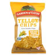 Garden Of Eatin' Yellow Corn Tortilla Chips - Tortilla Chips - Case Of 12 - 8.1 Oz.