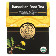 Buddha Teas - Organic Tea - Dandelion Root - Case Of 6 - 18 Bags