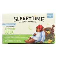 Celestial Seasonings - Tea - Sleepytime Detox - Case Of 6 - 20 Bags