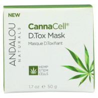 Andalou Naturals - Cannacell D.tox Mask - 1.7 Oz.