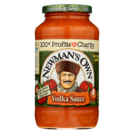 Newman's Own - Pasta Sauce Vadka - Case Of 8 - 24 Fz