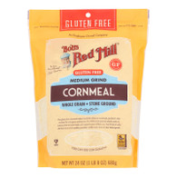 Bob's Red Mill - Cornmeal Gluten Free - Case Of 4 - 24 Oz