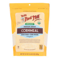 Bob's Red Mill - Cornmeal Medium - Case Of 4 - 24 Oz - _2486579
