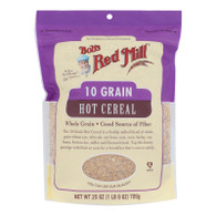 Bob's Red Mill - Cereal 10 Grain - Case Of 4-25 Oz