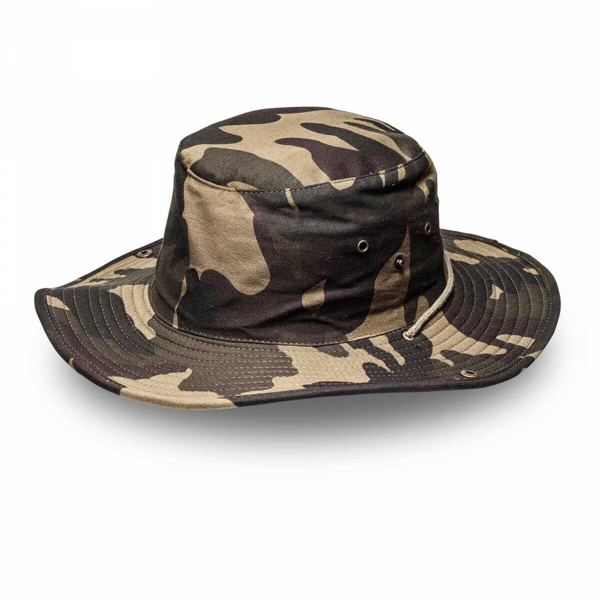 26ee6496ee831 Camo Green Kids Wide Brim Hats