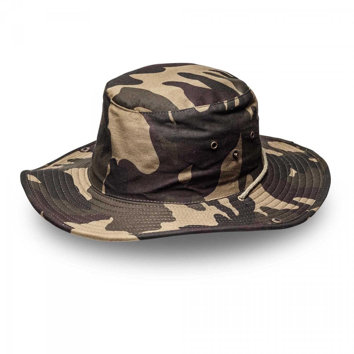 c554667ab3 Kiddies Camo Wide Brim Safari Hat