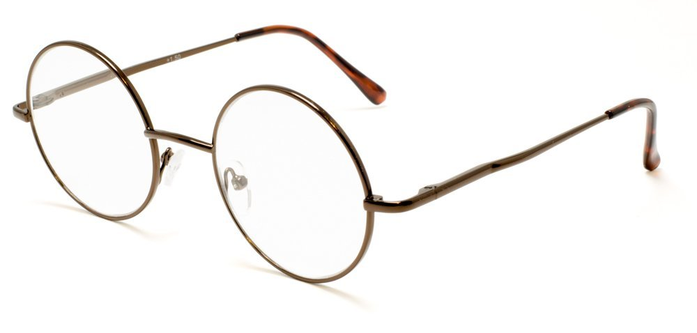 928afdec4747 Vintage Round Reading Glasses for Women and Men Readers Retro Style ...