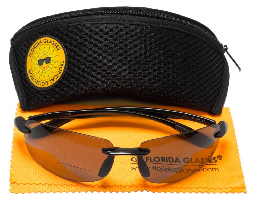Sunglasses With Polycarbonate Bifocal Island Reading Maui Polarized Lens cRL354Ajq