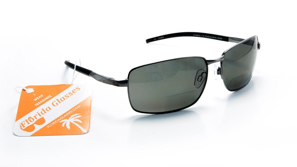 02c2664032 Unbreakable Polarized Bifocal Reading Sunglasses for Men and Women Designer  Look. Image 1. Loading zoom