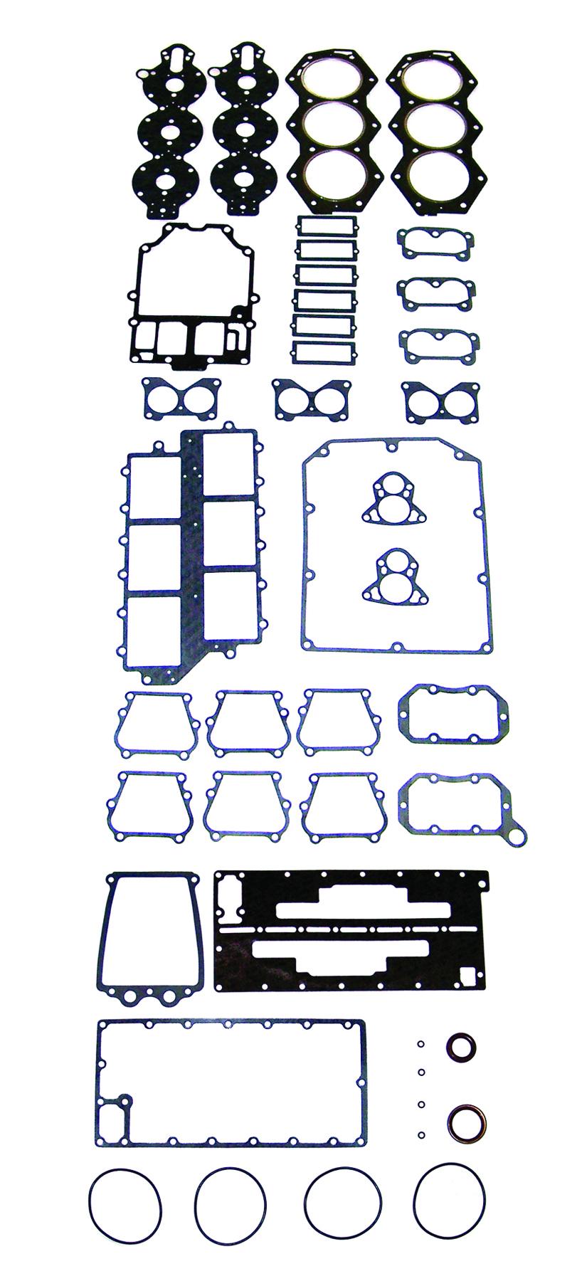 New Johnson/Evinrude 175/235 HP Crossflow 6-CYL Powerhead