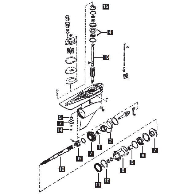 category merc 6 cyl lu rebuild kit?t=1510326460 mercury mariner gearcases six cylinder marine parts warehouse