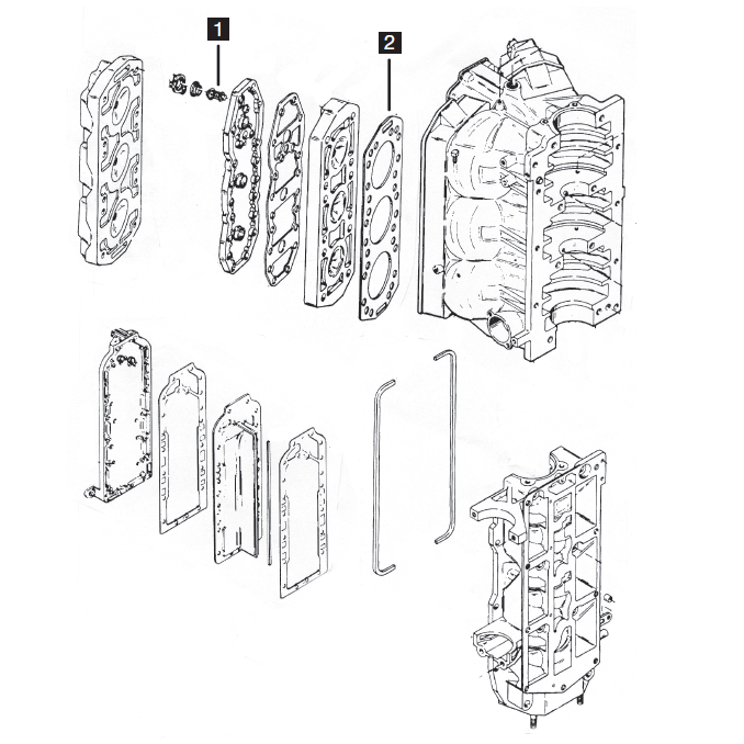 mercury mariner powerheads six cylinder powerhead ponents  category merc 6 cyl powerhead 2 0l 135 150