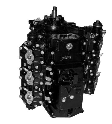 Remanufactured Johnson/Evinrude 200HO/225/250 HP 3 3L ETec V6