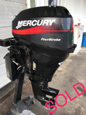 "2004 Mercury 9.9 HP Carbureted 4 Stroke 2 Cylinder 15"" Outboard Motor"