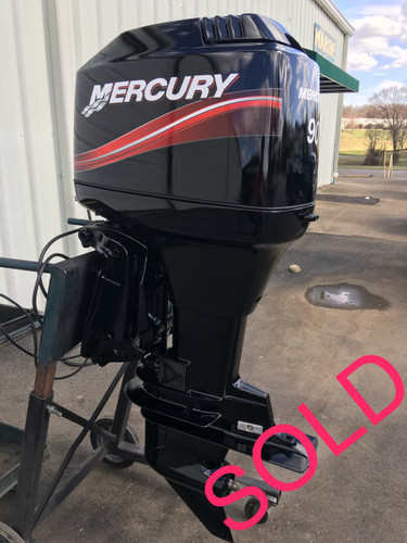 2003 mercury 90 hp 3 cylinder 2 stroke oil injection for Yamaha 90 outboard weight