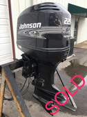"2001 Johnson 225 HP High Output V6 2 Stroke Carbureted 20"" Outboard Motor"