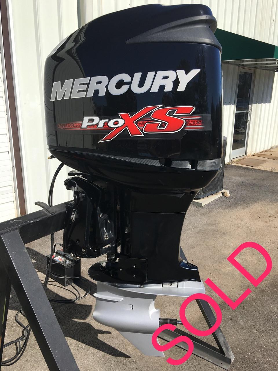 2014 Mercury 250 Hp Optimax Proxs Dfi V6 2 Stroke 20