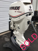 "2007 Evinrude E-Tec 115 HP V4 2 Stroke 25"" Outboard Motor"
