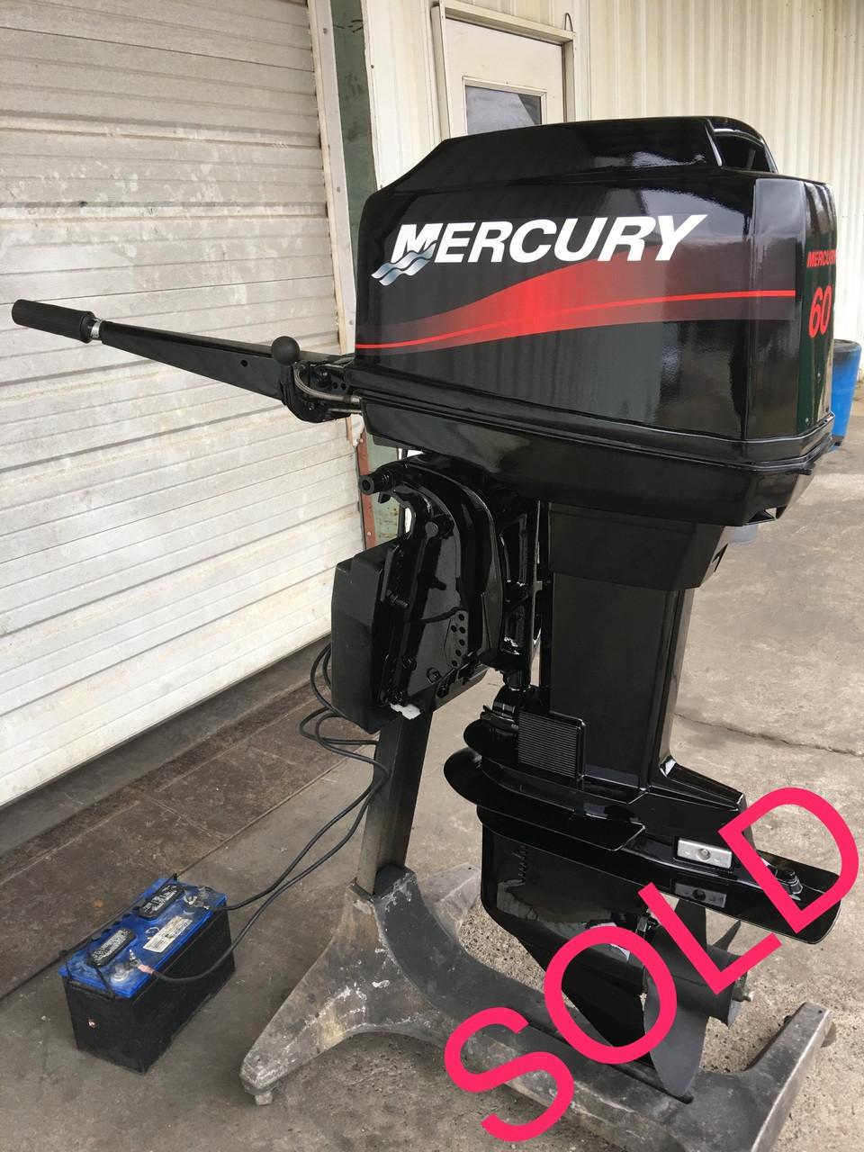 2001 Mercury 60 HP 3 Cylinder 2 Stroke 20