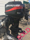 "1999 Mercury 60 HP 3 Cylinder Carbureted 2 Stroke 20"" Bigfoot Outboard Motor"
