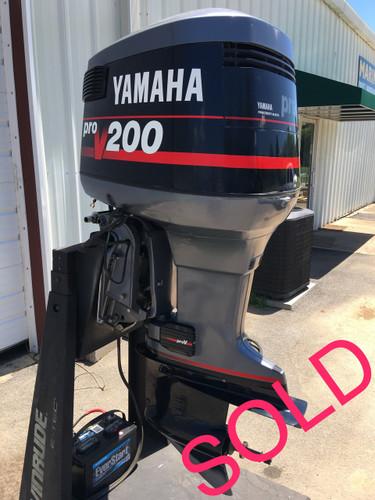 Img on Yamaha Pro V 150 Outboard Motor
