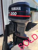 """1994 Yamaha ProV 200 HP V6 2 Stroke 20"""" Outboard Motor"""